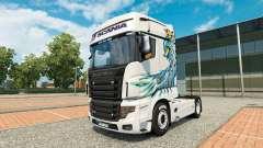 Eine Sammlung von skins für Scania R700 truck