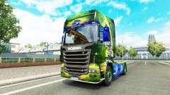 Brasil de la peau pour Scania camion