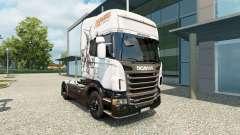 Magic skin für Scania-LKW