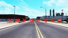 Rote Barrieren