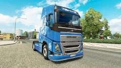 La peau de l'Année du Cheval chez Volvo trucks