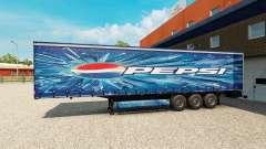 Pepsi-skin für den Anhänger