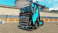 La peau de Fumée Verte pour Volvo camion