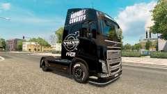 Asphalt-Cowboys Haut für Volvo-LKW