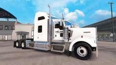 Skin Industries Polar truck Kenworth W900