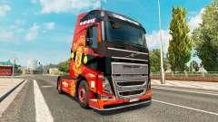 Manchester United peau pour Volvo camion