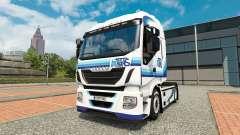 Ital trans peau pour Iveco tracteur