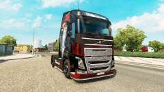La peau de Metallica pour Volvo trucks