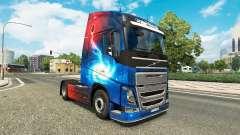 Galaxy skins für Volvo-LKW