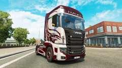 La fantaisie de la peau pour Scania camion R700