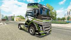 Haut Concept-Bild für Volvo-LKW