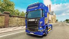 Looney Tunes skin für Scania-LKW