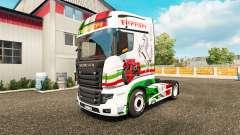 Ferrari skin für die Scania R700 truck