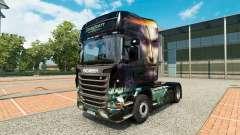 Starcraft 2 de la peau pour Scania camion