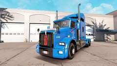Carlile de la peau pour Kenworth T800 camion