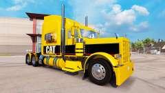 CHAT de la peau pour le camion Peterbilt 389