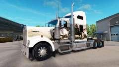 La peau de Chevaliers sur le camion Kenworth W90