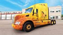 Western-skin für den truck Peterbilt