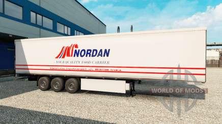 Haut Nordan auf den trailer für Euro Truck Simulator 2