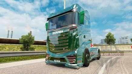 Scania R1000 Concept v4.1 pour Euro Truck Simulator 2