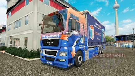 MAN TGS Woodys Express pour Euro Truck Simulator 2