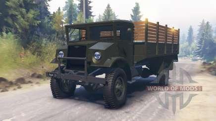 Chevrolet C60L 1942 pour Spin Tires