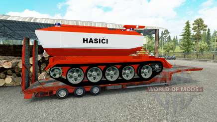 Low sweep mit Feuer tank für Euro Truck Simulator 2