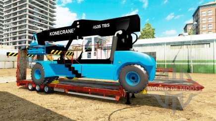 Low sweep mit einem Gabelstapler von Konecranes für Euro Truck Simulator 2