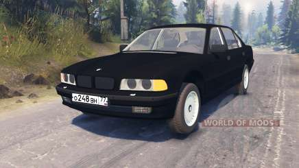 BMW 750Li (E38) pour Spin Tires