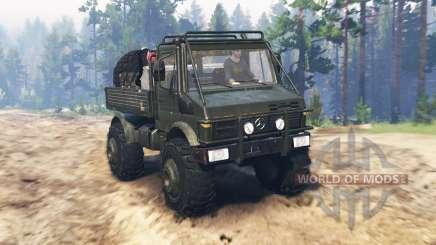 Mercedes-Benz Unimog U1650 pour Spin Tires