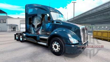 La peau XCOM2 sur un tracteur Kenworth pour American Truck Simulator