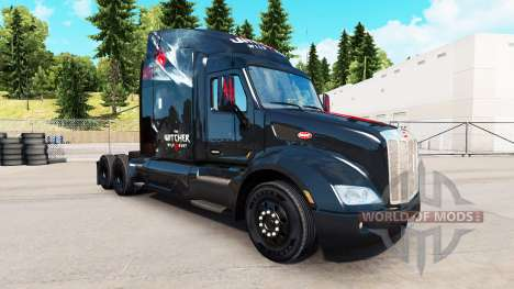 Haut The Witcher Wild Hunt auf der Zugmaschine P für American Truck Simulator