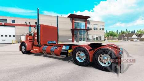 La peau Hawk de Halage pour le camion Peterbilt  pour American Truck Simulator