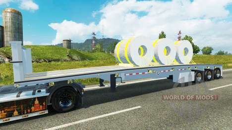 Semi bobines d'acier pour Euro Truck Simulator 2