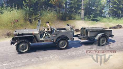Jeep Willys MB 1942 pour Spin Tires