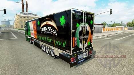 Guinness-skin für den truck-Scania R700 für Euro Truck Simulator 2