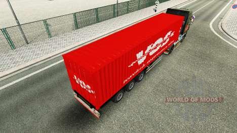 Semi-trailer VOS pour Euro Truck Simulator 2