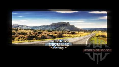 Loading screens Nevada für American Truck Simulator