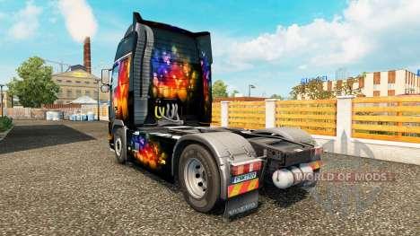 Haut-Farbe-Wand bei Volvo trucks für Euro Truck Simulator 2
