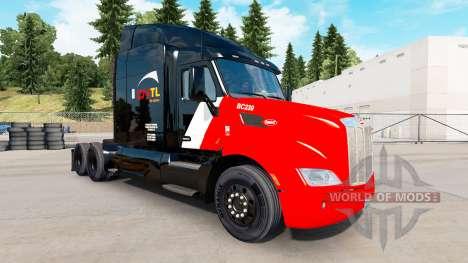 La peau CN Transport sur les tracteurs et Animau pour American Truck Simulator