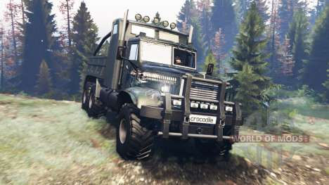 KrAZ-255 B1 Tatouage pour Spin Tires