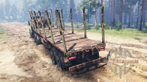 KRAZ-6322 für Spin Tires