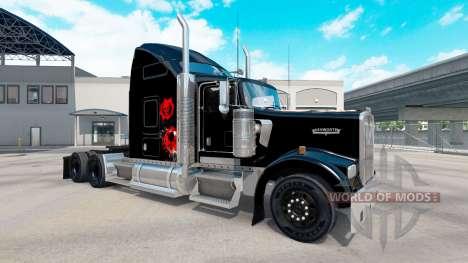 Die Haut auf dem Schädel truck Kenworth W900 für American Truck Simulator