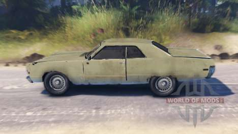 Plymouth Fury III pour Spin Tires
