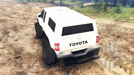 Toyota Hilux Extra Cab 1994 pour Spin Tires