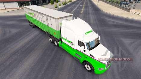 Chemso de la peau pour le camion Peterbilt pour American Truck Simulator