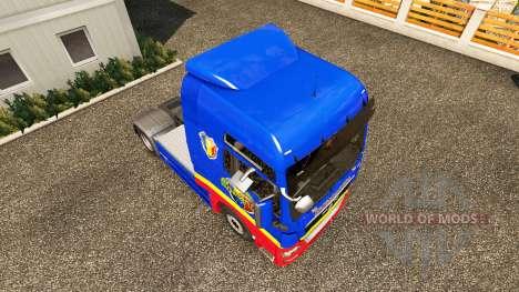 Rumänisch-skin für MAN-LKW für Euro Truck Simulator 2