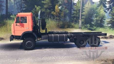 KamAZ-65111 pour Spin Tires