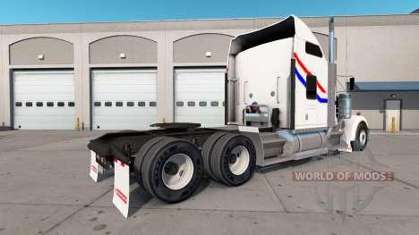 La peau VIT Bicentenaire de la camion Kenworth W pour American Truck Simulator