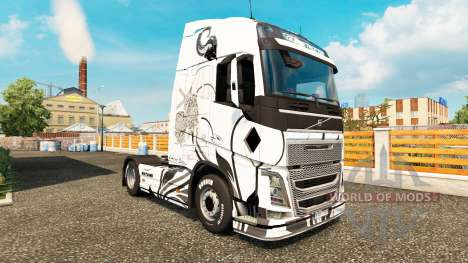 Wayang skin für Volvo-LKW für Euro Truck Simulator 2